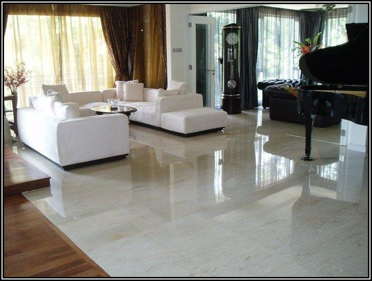 Living Room Indian Granite Flooring Designs