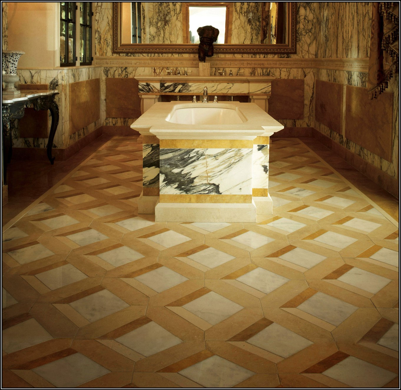 Marble Indian Granite Flooring Designs