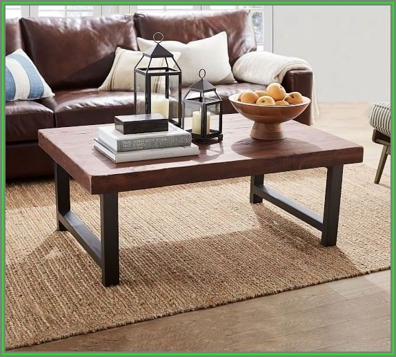 Pottery Barn Coffee Tables Wood