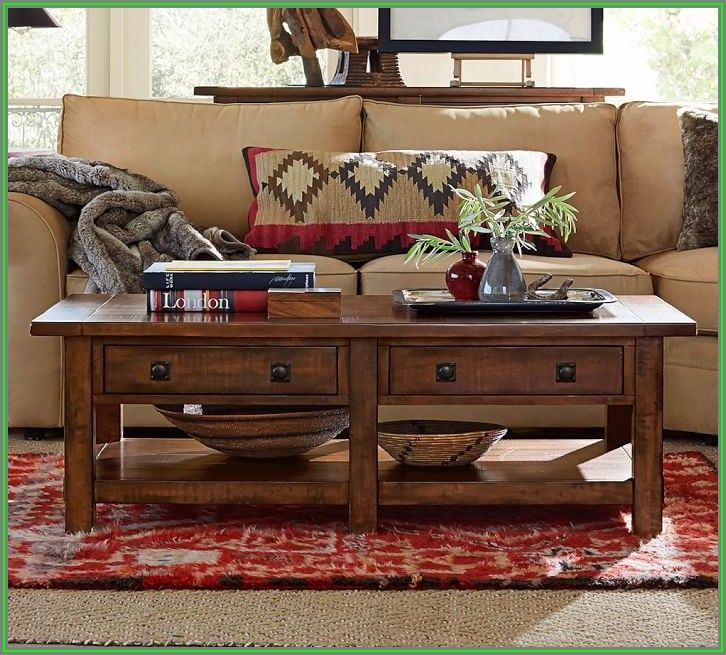 Pottery Barn Square Coffee Tables