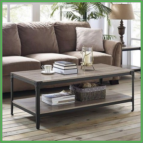 Rustic Wood Coffee Table Canada