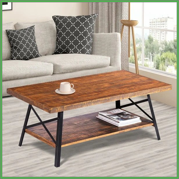 Rustic Wood Coffee Table Legs