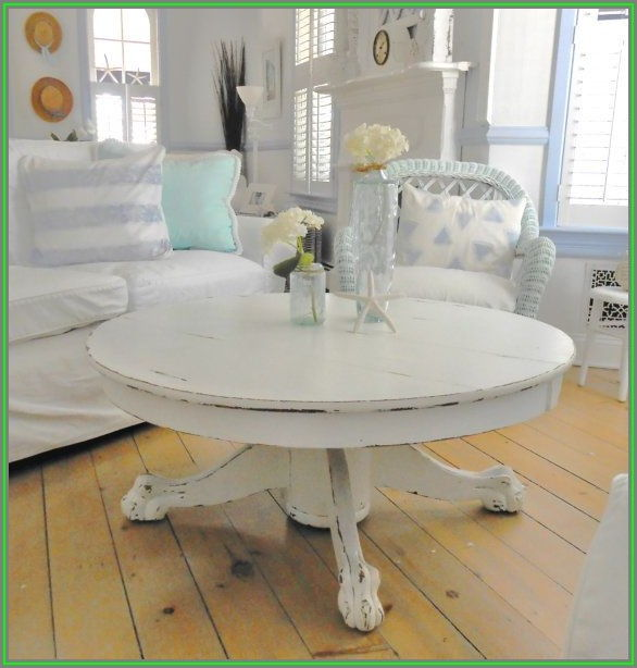 Shabby Chic Coffee Table Round