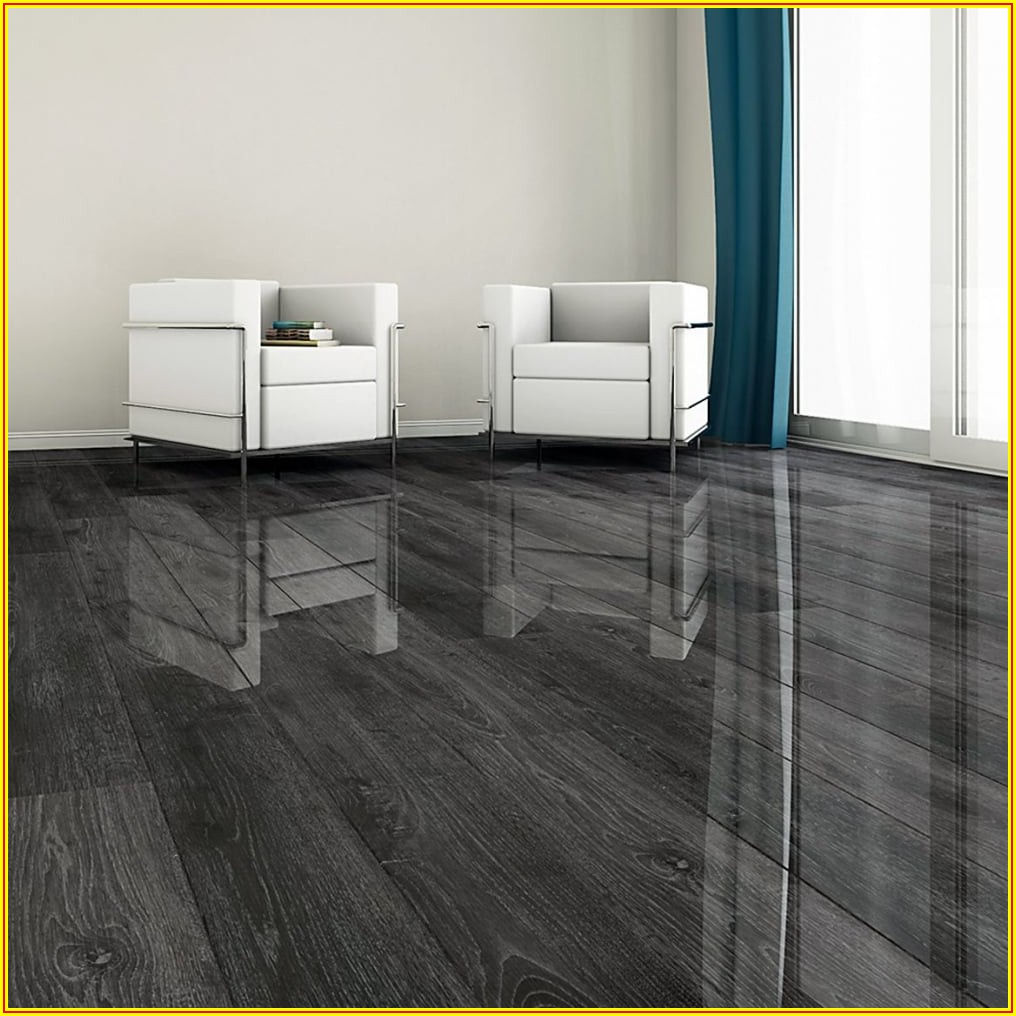 Silver Oak High Gloss Laminate Flooring