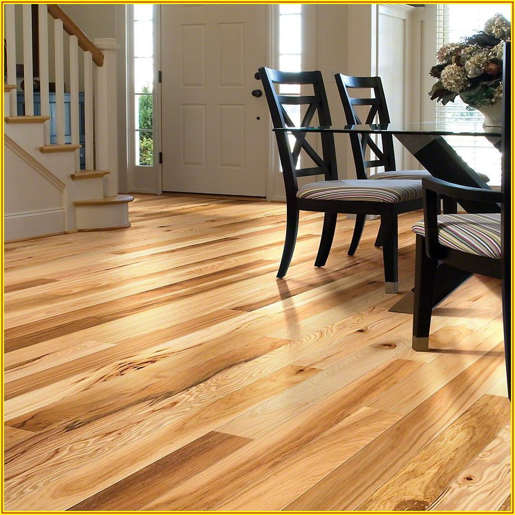 Solid Wood Hickory Flooring