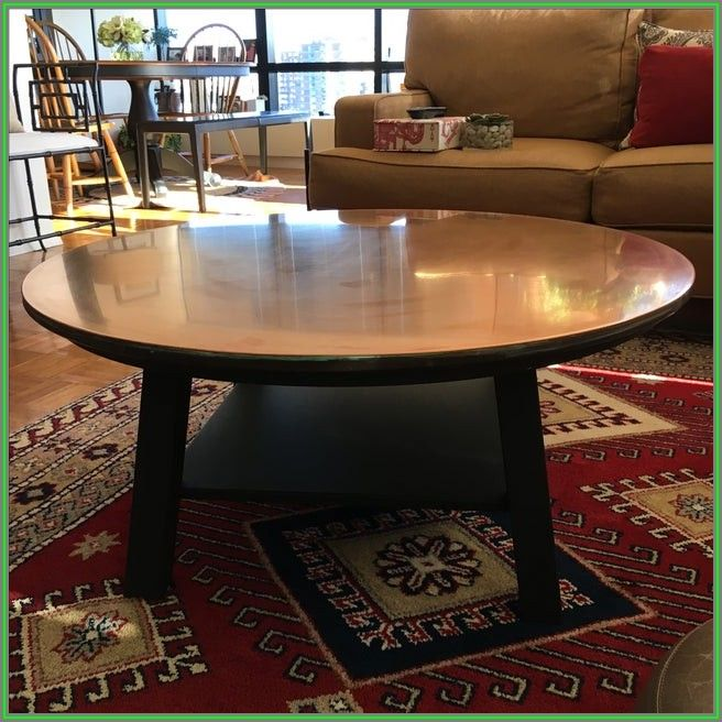 Square Ethan Allen Coffee Table