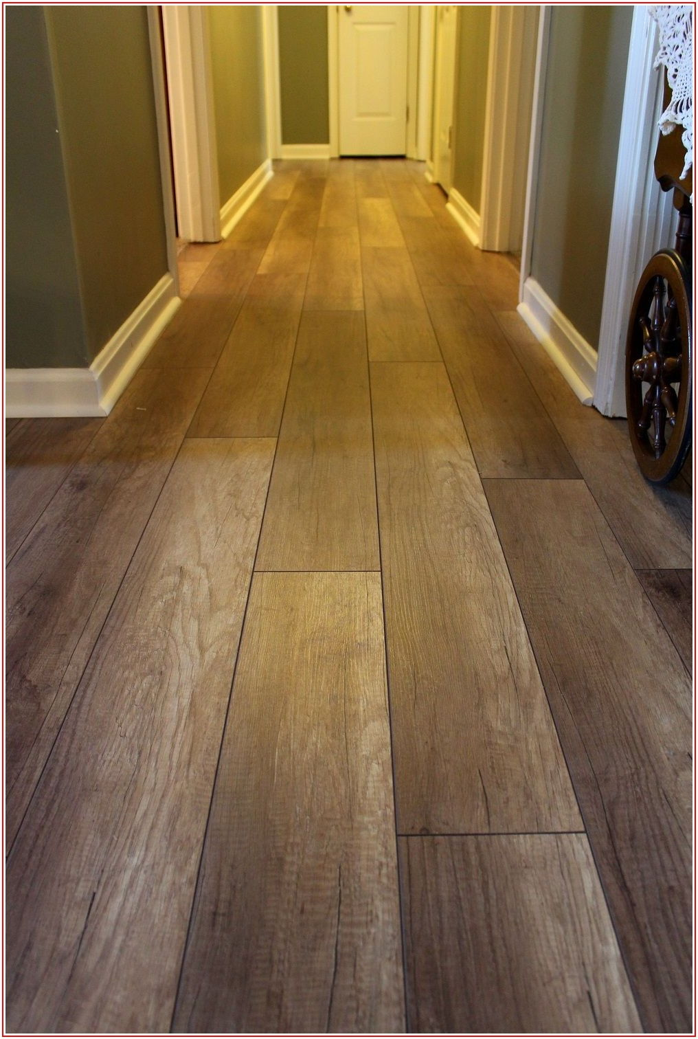 Vinyl Plank Flooring Throughout Home