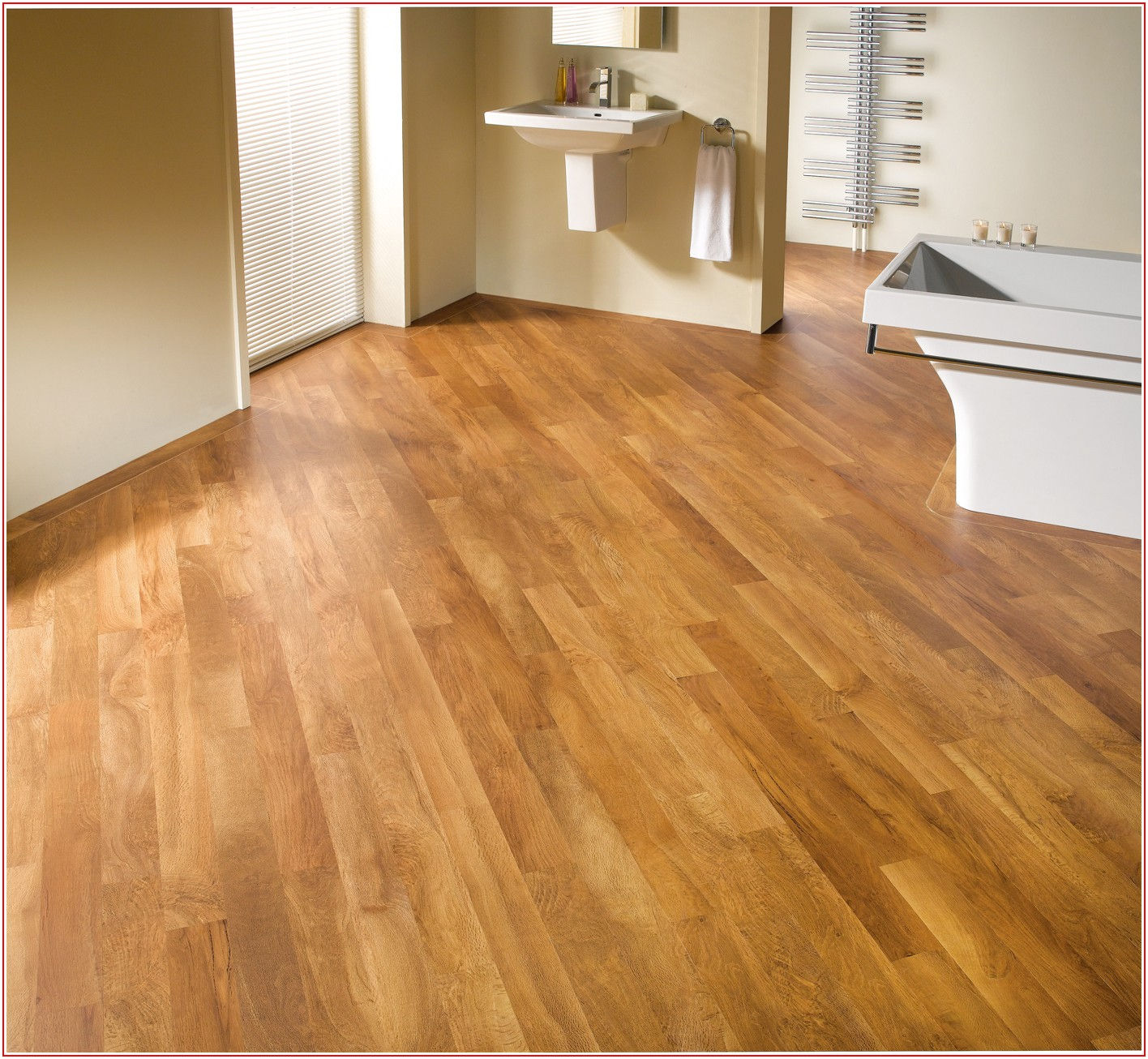 Warm Honey Oak Vinyl Flooring