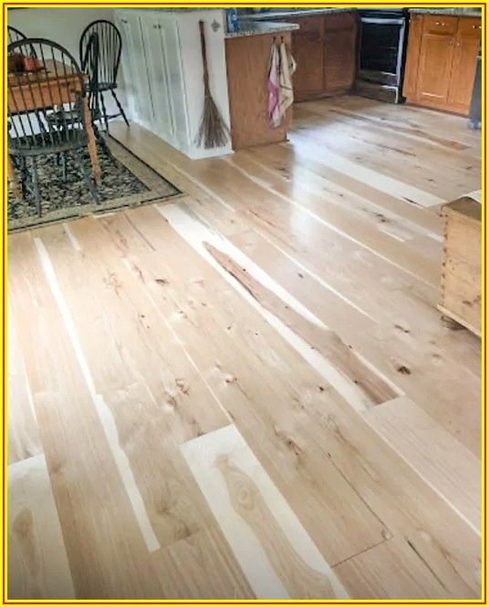 Wide Plank Hickory Engineered Hardwood Flooring