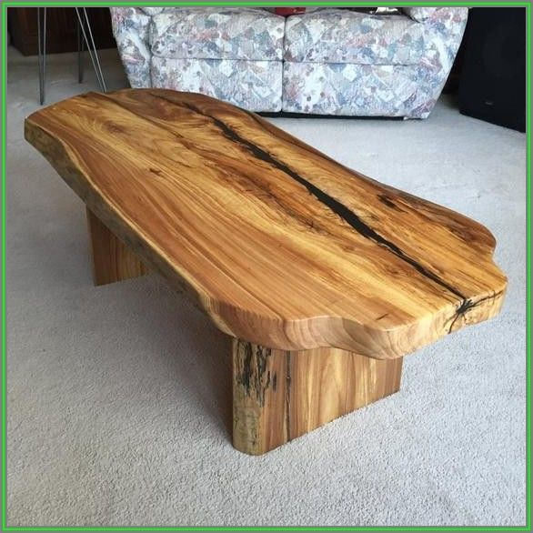 Wood Slab Coffee Table Legs