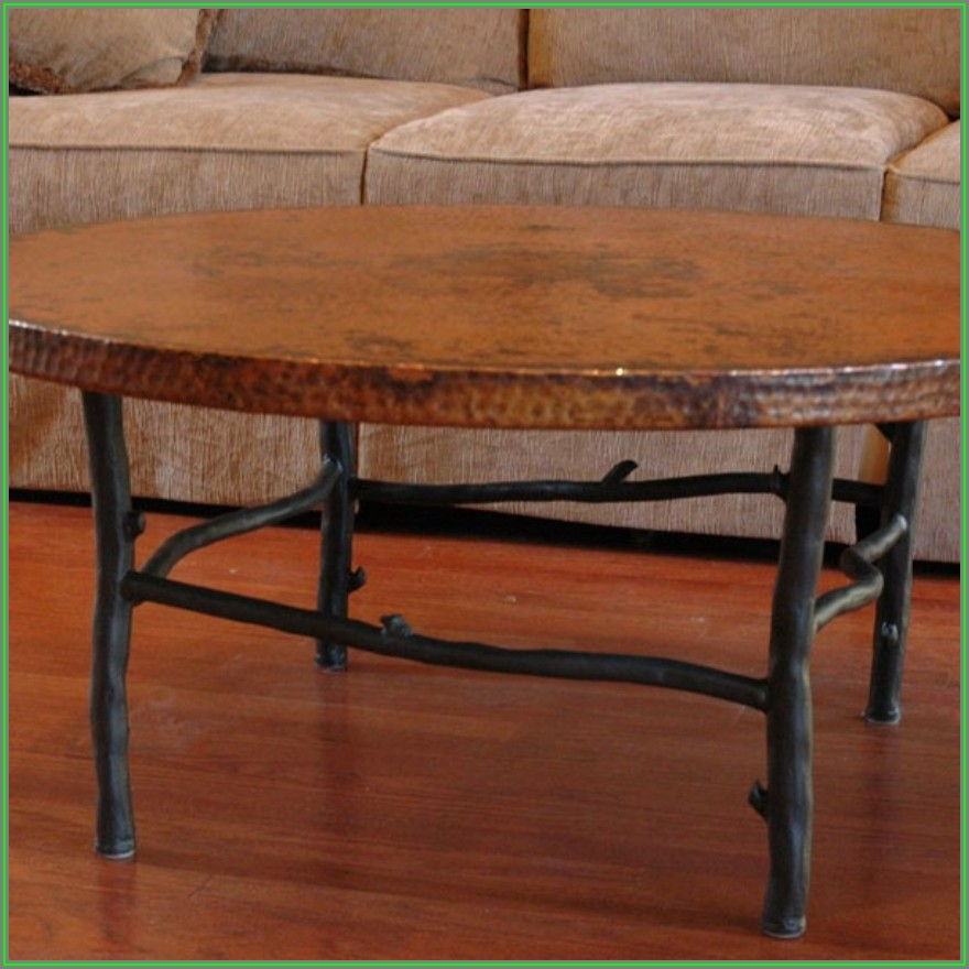 Wrought Iron Coffee Table Base Only