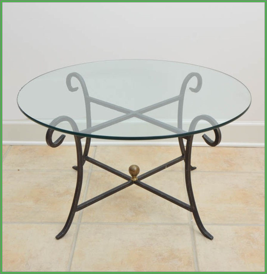 Wrought Iron Coffee Table Designs