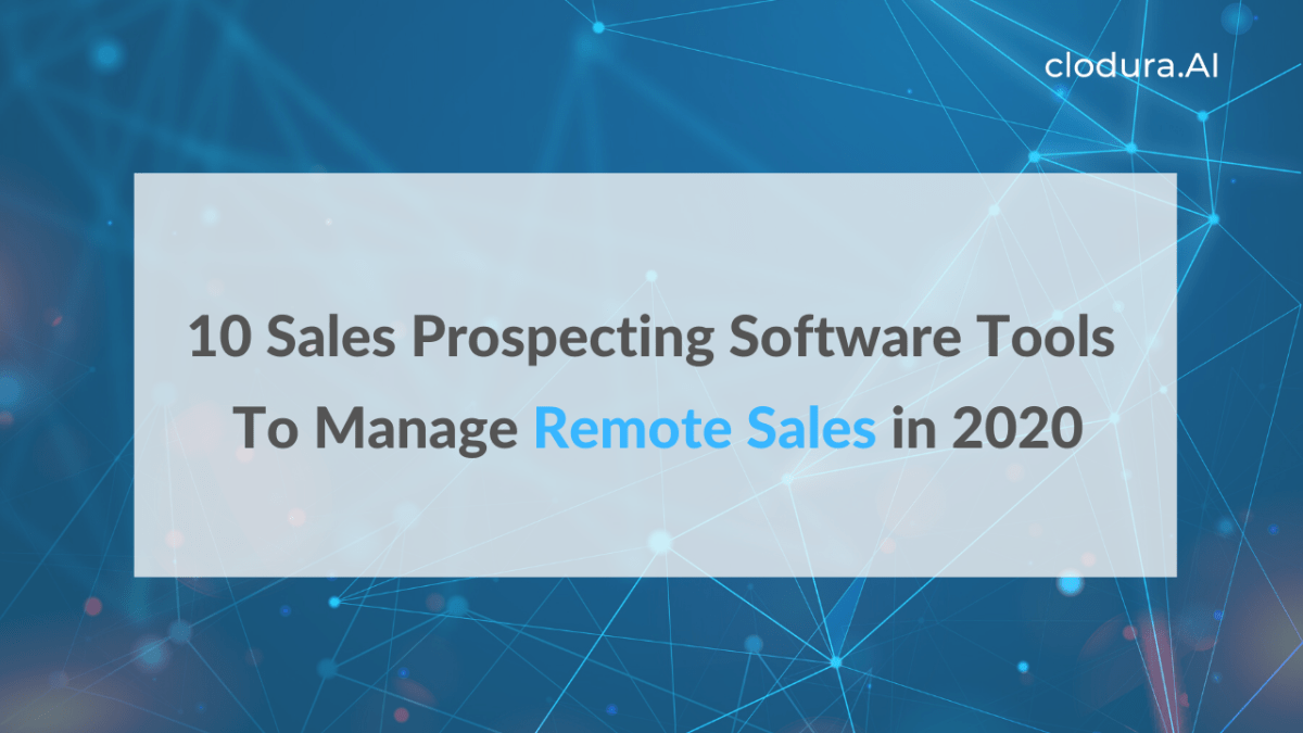sales prospecting software