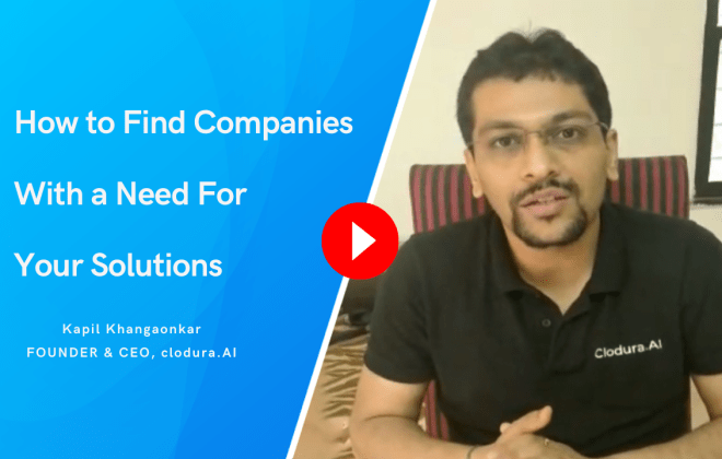 How to Find Companies With a Need For Your Solutions