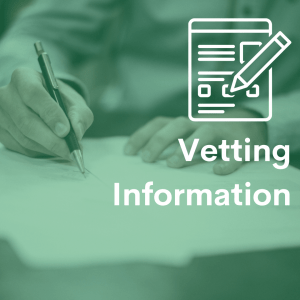 Vetting Info