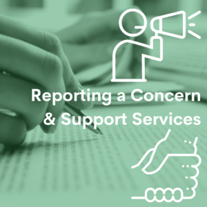 reporting support services