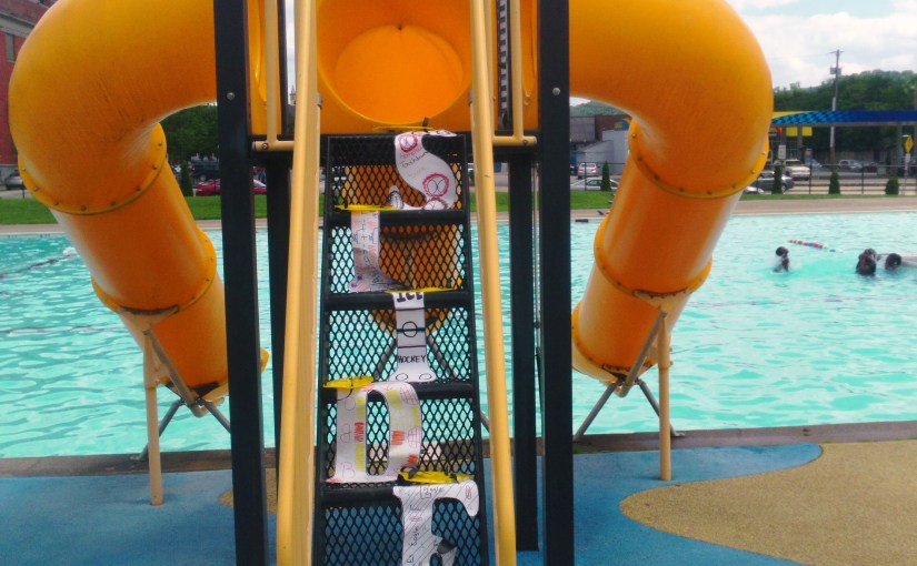 Permission Slip and outdoor swimming at Citiparks' pool