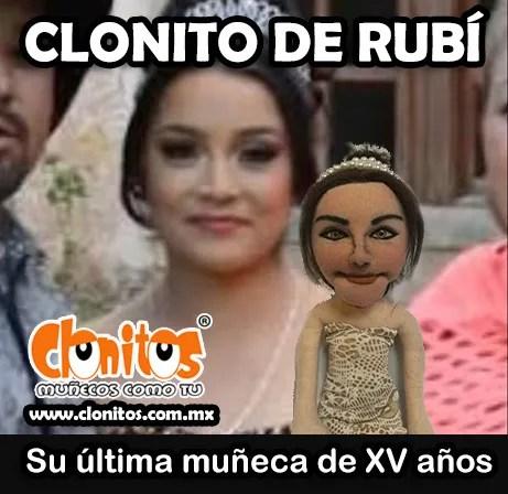 Clonitos presente en los XV años de Rubí