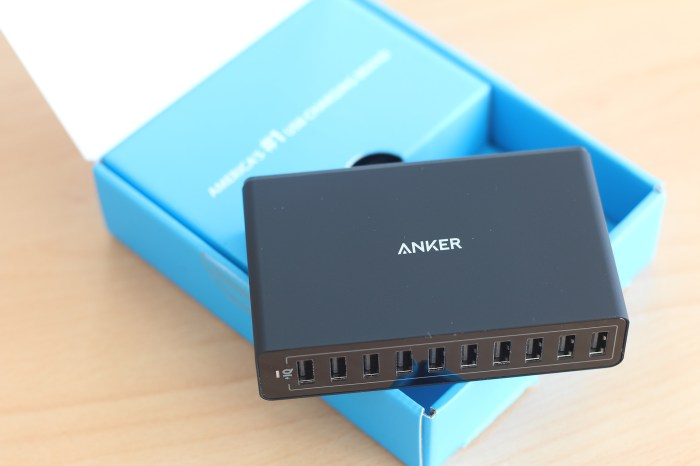 Déballage Anker PowerPort10