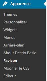 Favicon WordPress 5