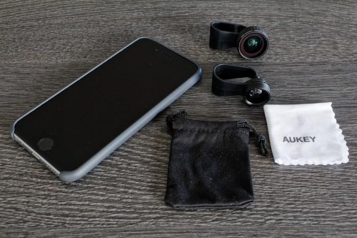 Objectif Smartphone Aukey 3en1
