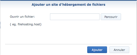 1fichier synology