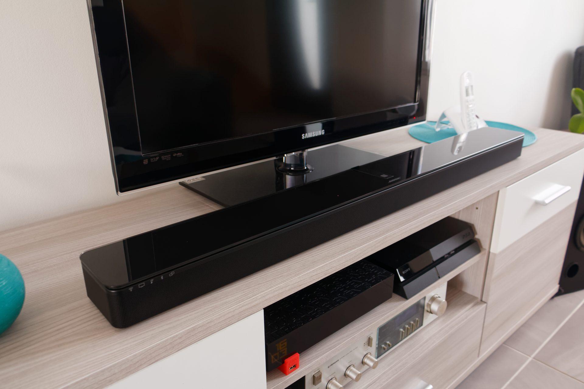 Meuble Tv Avec Barre De Son test de la bose soundtouch 300 - cloriou.fr
