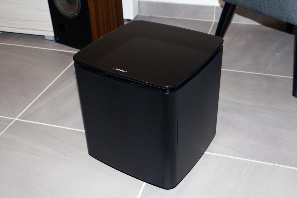 Test Du Caisson Bose Acoustimass 300 Cloriou Fr # Meuble Tv Home Cinema Integre Bose