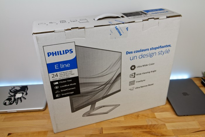 Déballage Philips 246E9