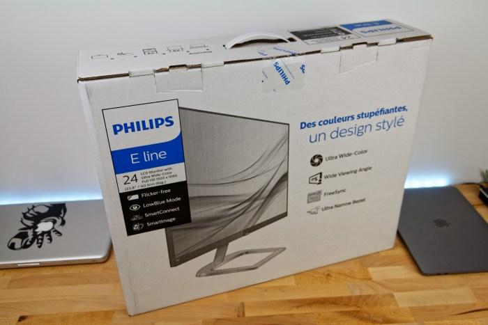 Déballage Philips 246E9