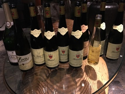 Zind Humbrecht Wine Tasting