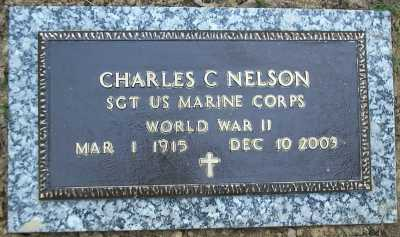 Charles Nelson plaque