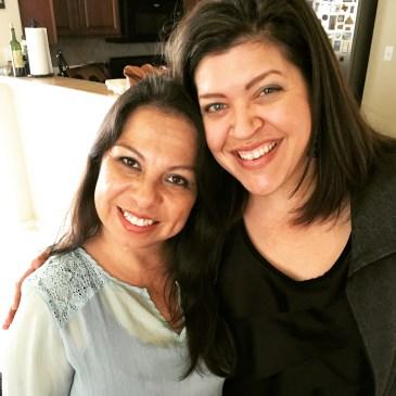With mi amiga from Dallas
