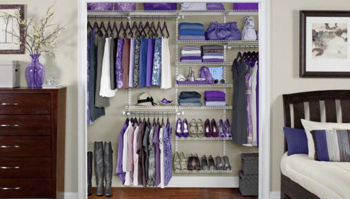 A Closet Organization System Can Increase Storage Space Closet
