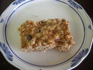 Chewy Fruit & Oatmeal Bar