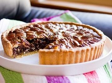 Regal Pecan Pie   image by libertineeats.com   recipe by Marlene Sorosky