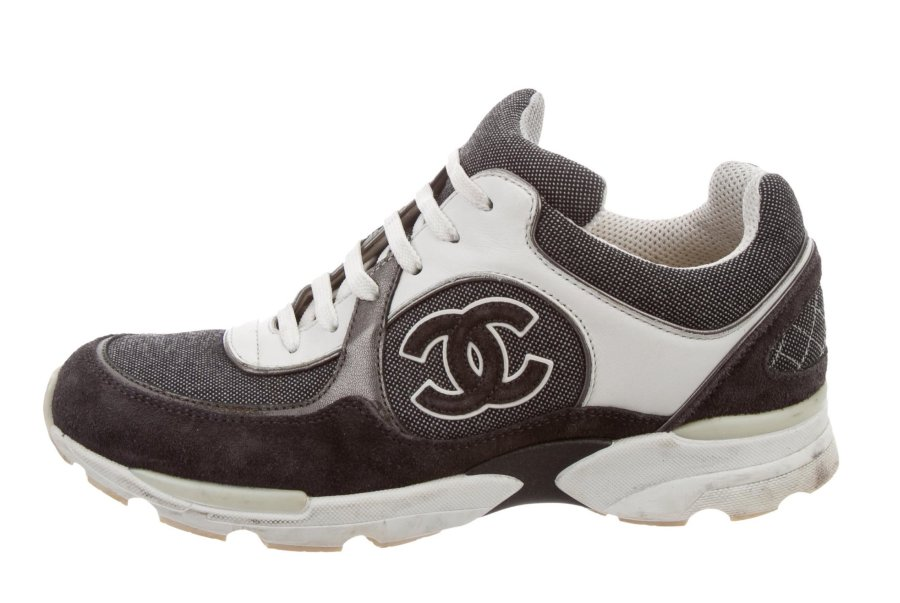 Chanel CC Low Top Sneakers
