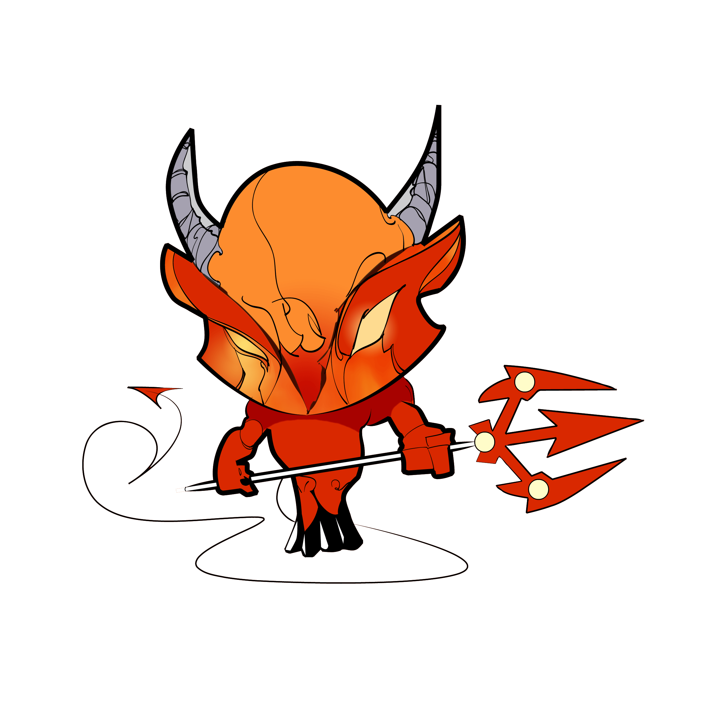 Old Scratch. The Devil. He's evil.