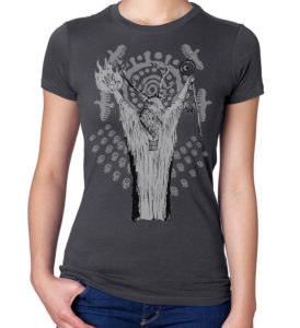 deer shaman shirt for ladies