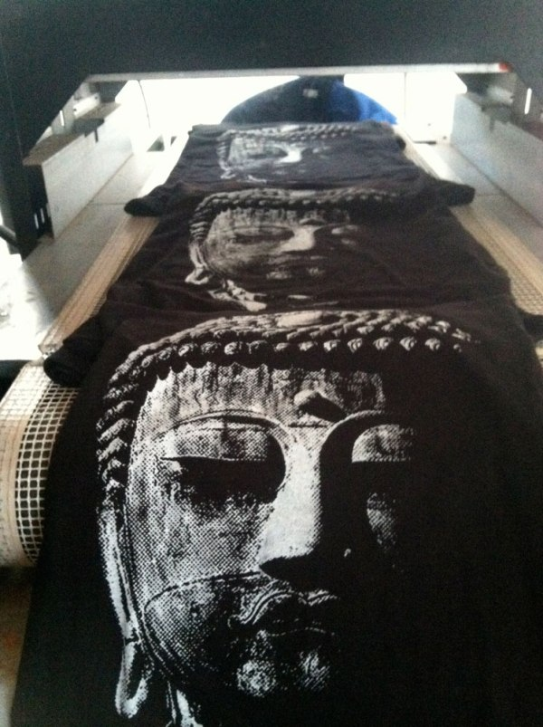 Great Buddha t shirt design by Closet of Mysteries