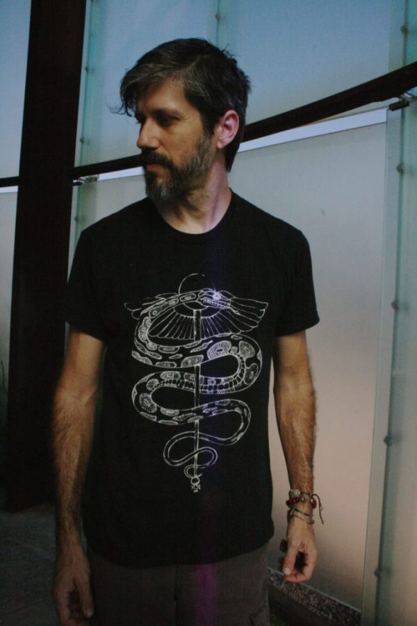 Rod of Asclepius t shirt from Closet of Mysteries