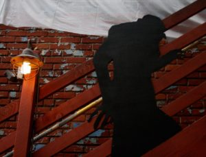Nosferatu climbing the stairs at Back to the Grind Riverside