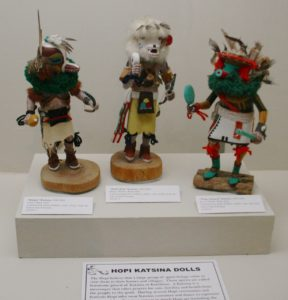 Hopi Kachina at Riverside Metropolitan Museum