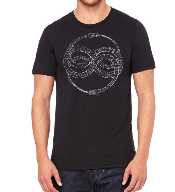 Triblend Ouroboros shirt by Closet of Mysteries
