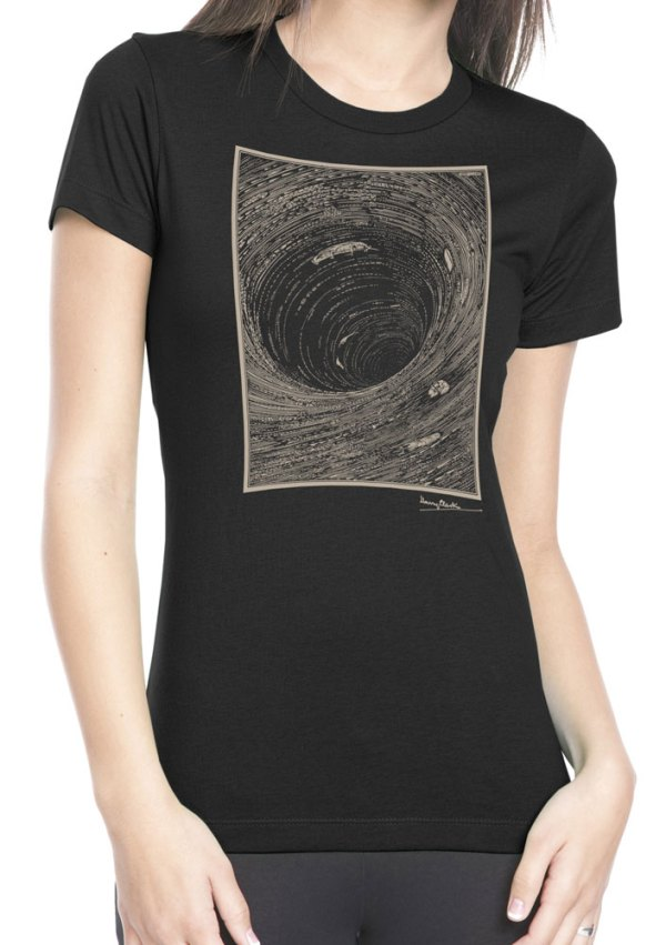 """Harry Clarke Illustration """"Descent into the Maelstrom"""" Edgar Allan Poe shirt by Closet of Mysteries"""
