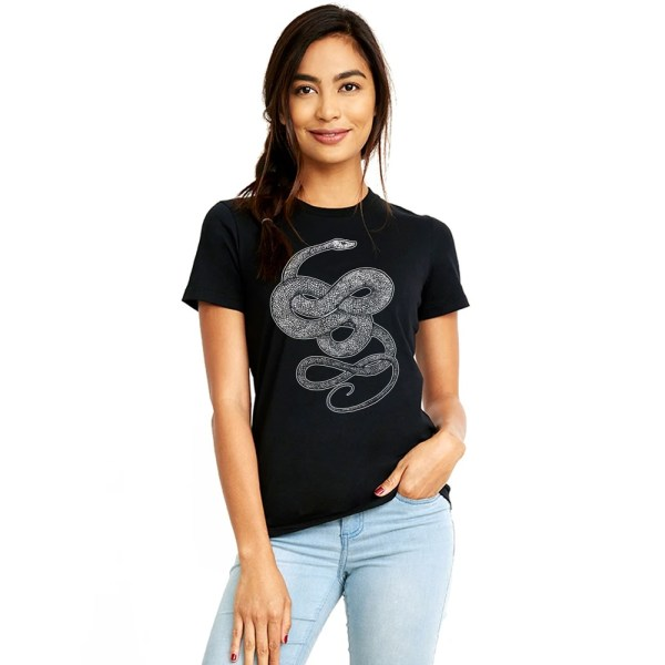 Ladies' knotted snake shirt by Closet of Mysteries