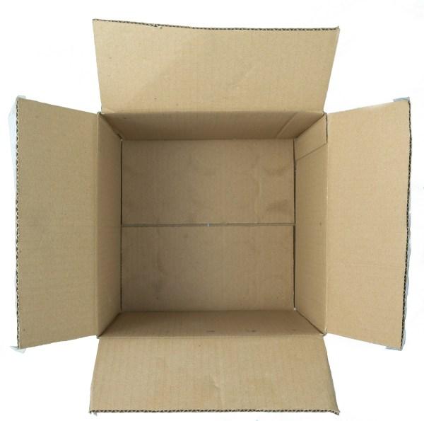 Empty Brown Cardboard Box
