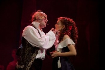 Paulina performing in Phantom of the Opera