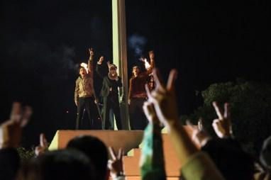 También se filmó en la Plaza de las Tres Culturas.