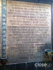 """Texto """"amenzante"""" firmado por F. S. G. en 1945 (Foto: Close Up)"""